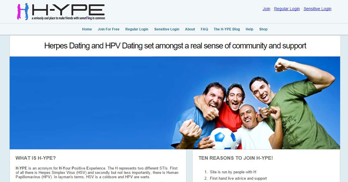 Herpes hpv dating site