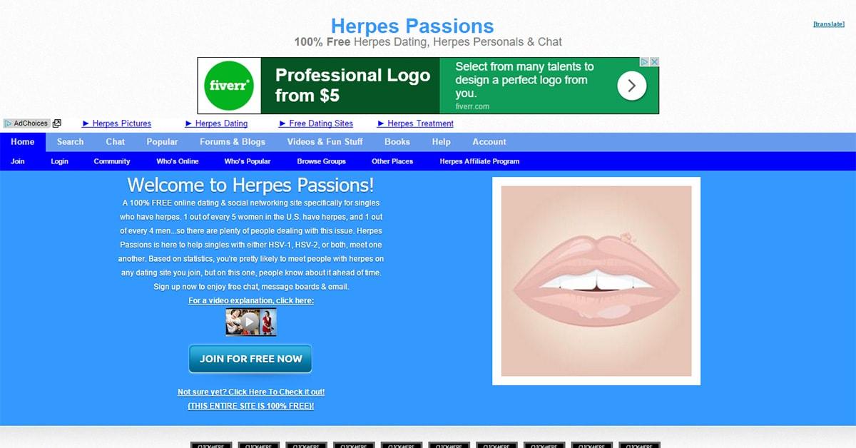 Dating with herpes sites