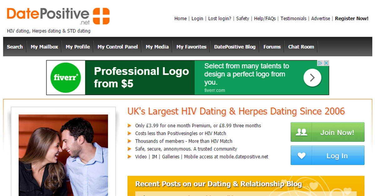 Hsv dating sites free