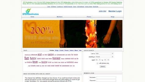 STD Soulmates Homepage