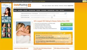 DatePositive Homepage
